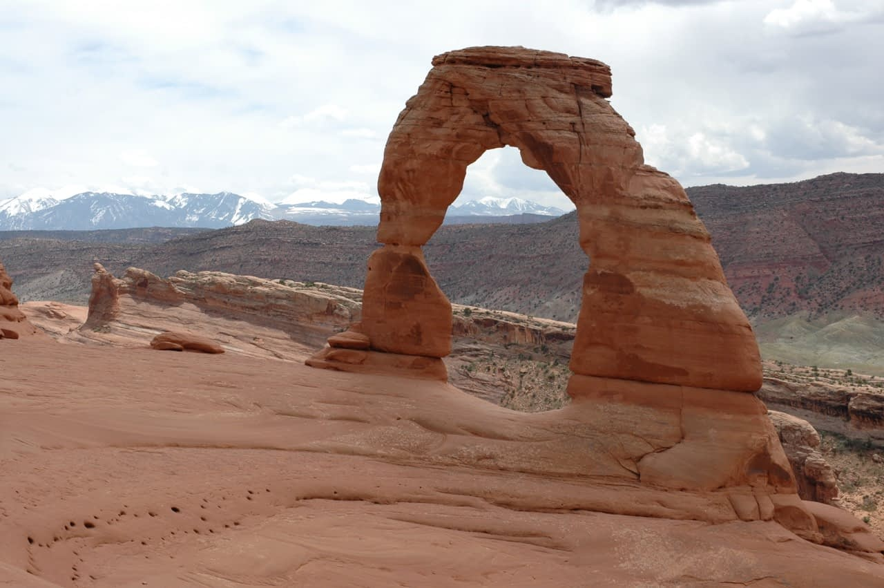 delicate arch in moab