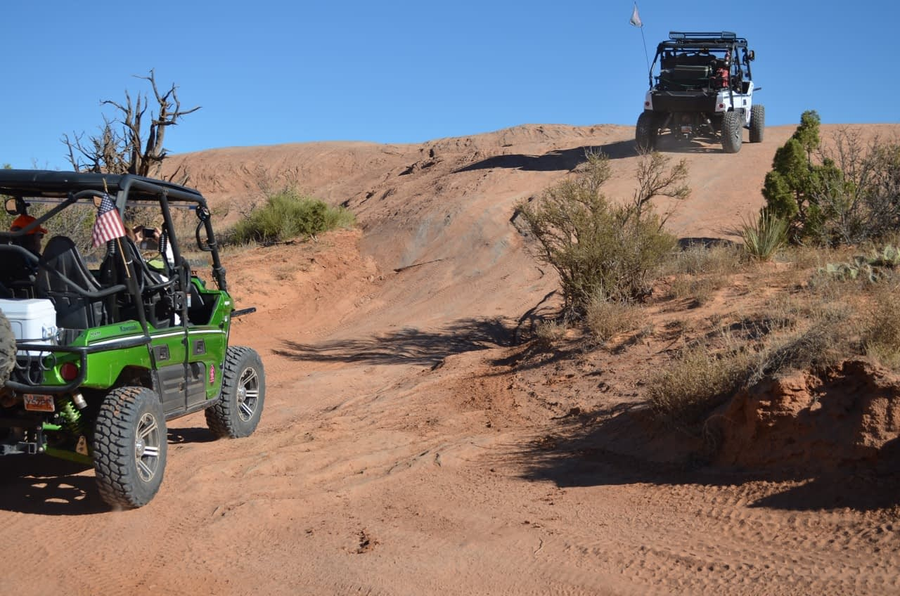 4X4 in Moab