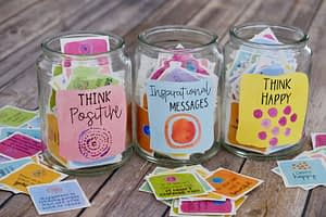 positive message jars