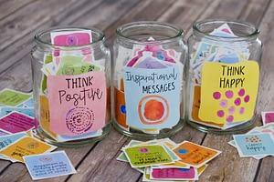 positive message jars
