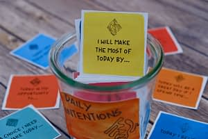 intention cards